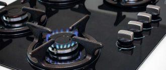 Выбор газовой плиты для дома
